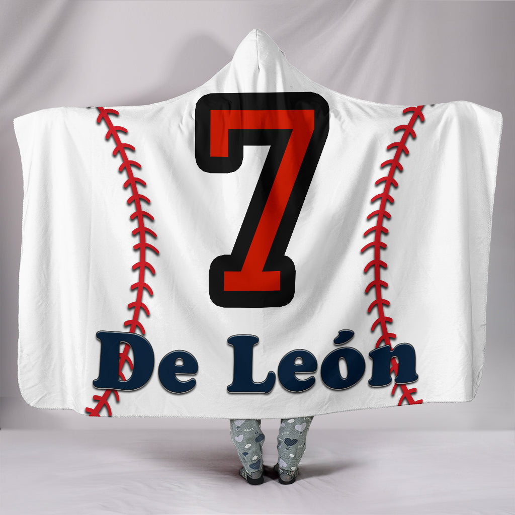 draft personalized hooded blanket 5446