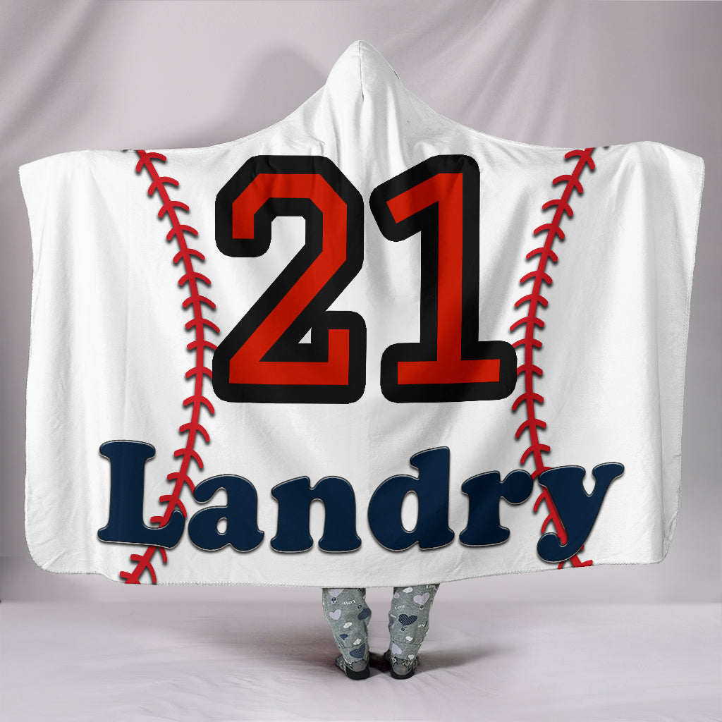 draft personalized hooded blanket 5428