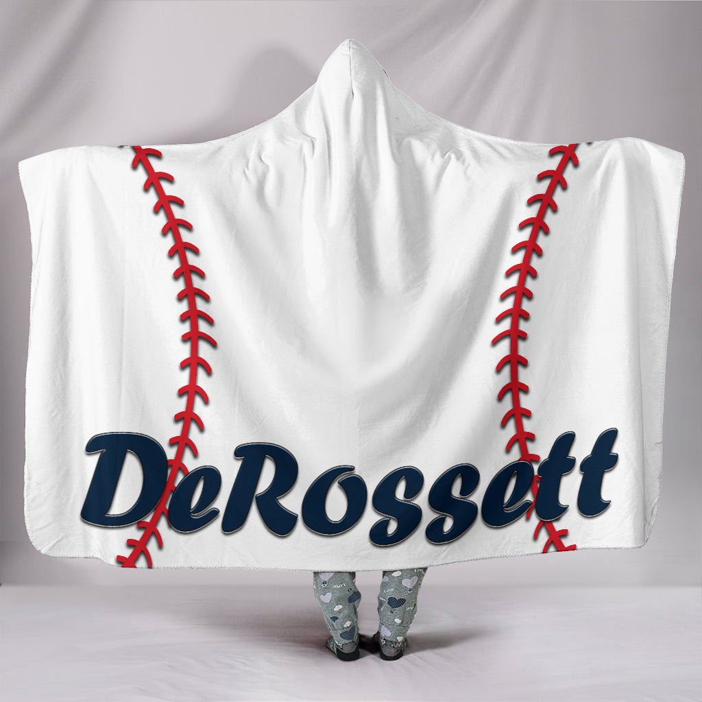 draft personalized hooded blanket 4495