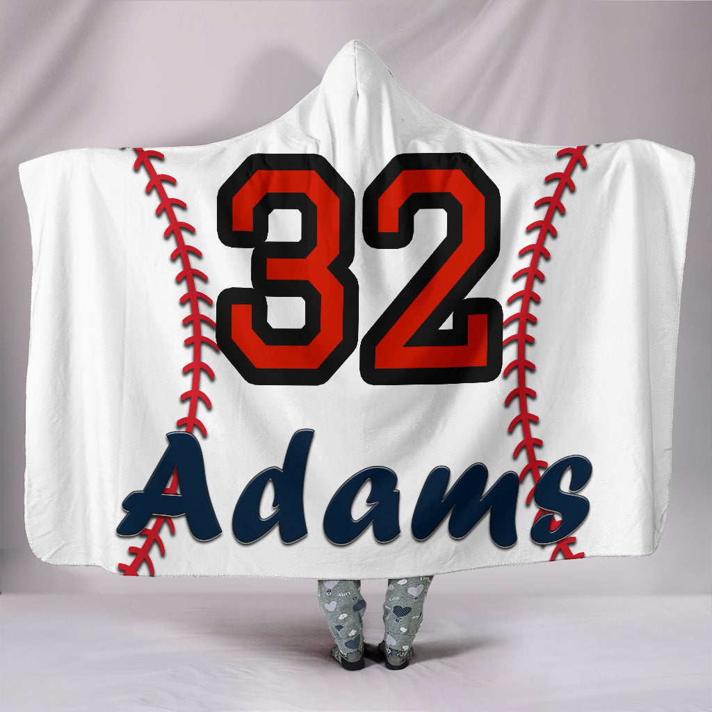 draft personalized hooded blanket 4384