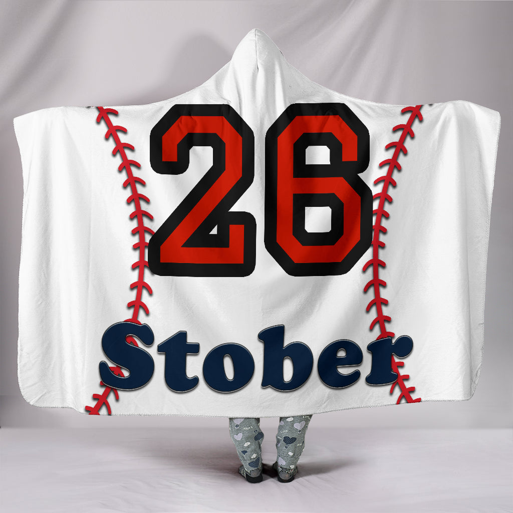 draft personalized hooded blanket 6387