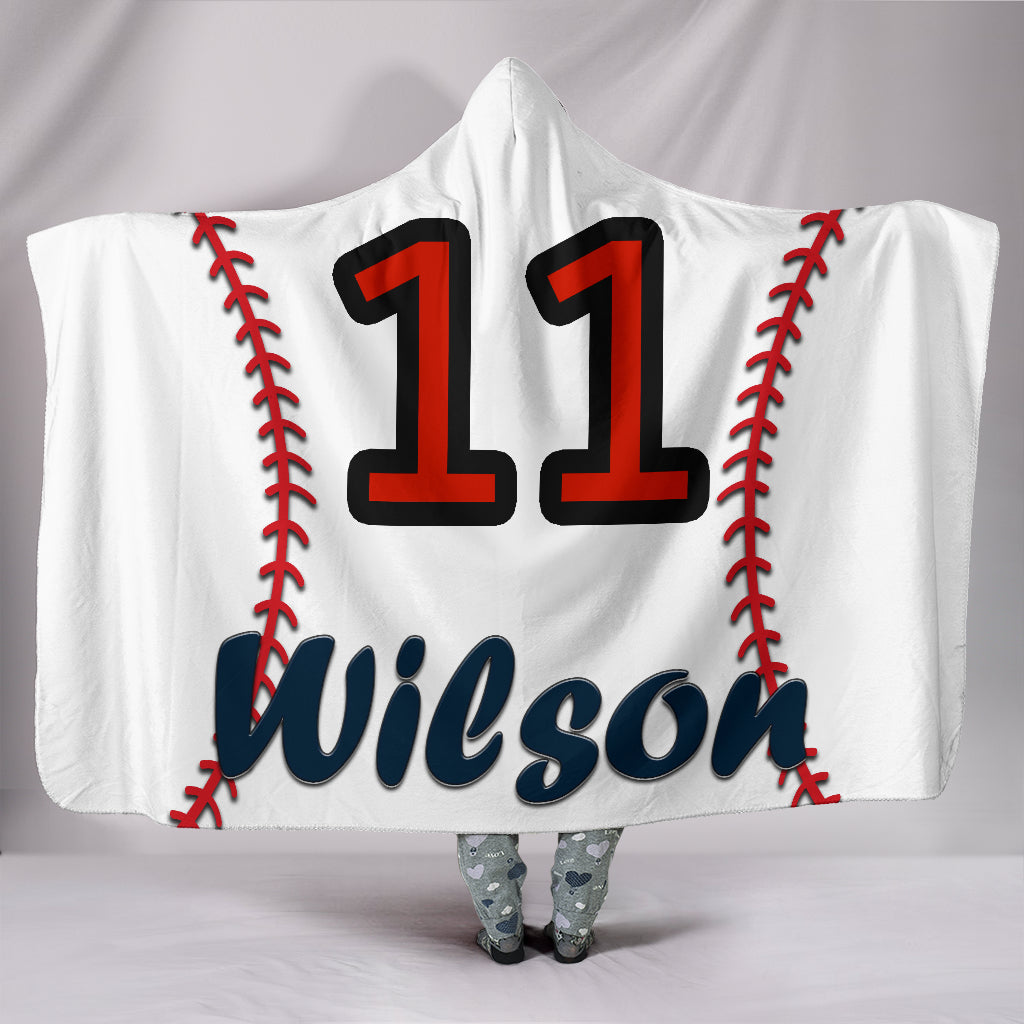 draft personalized hooded blanket 5024