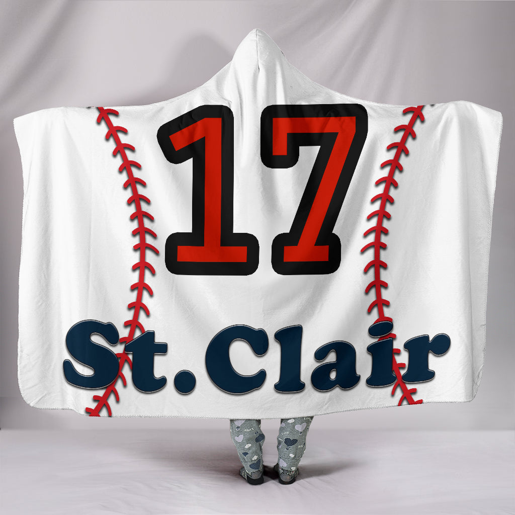 draft personalized hooded blanket 5142
