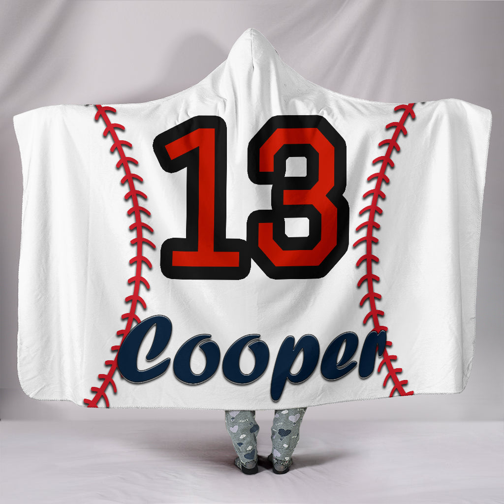 draft personalized hooded blanket 4387
