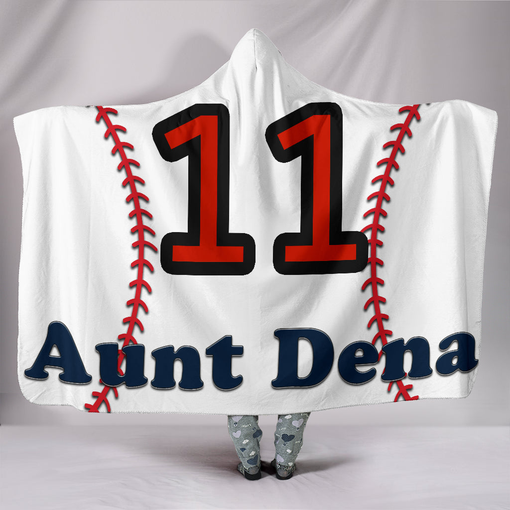 draft personalized hooded blanket 6299