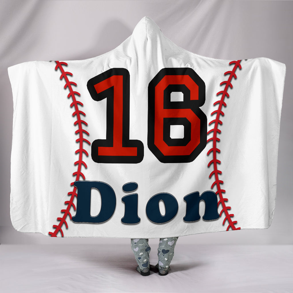 draft personalized hooded blanket 4886