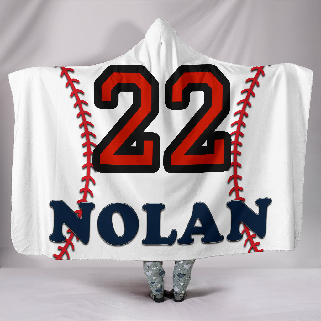 draft personalized hooded blanket 6227