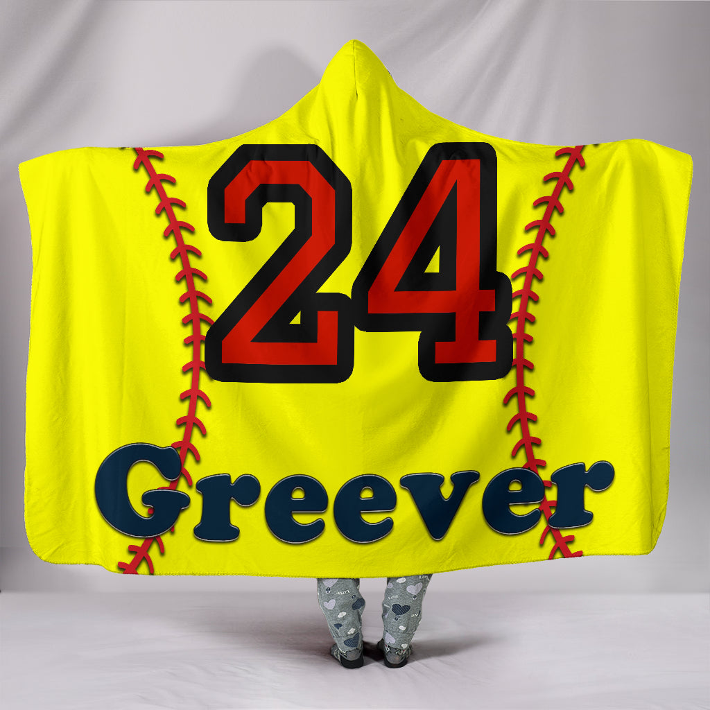 draft personalized hooded blanket 6755