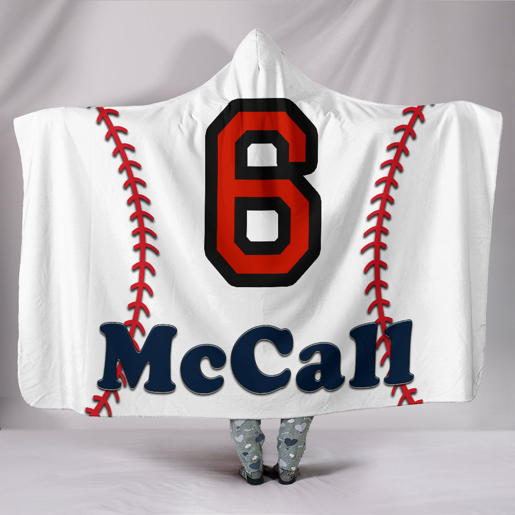 draft personalized hooded blanket 6159