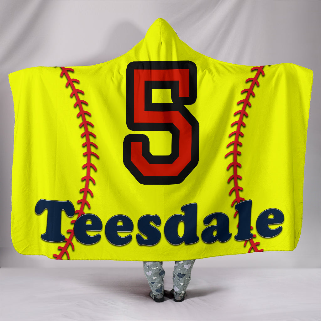 draft personalized hooded blanket 5906