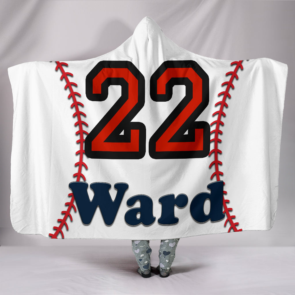 draft personalized hooded blanket 5519