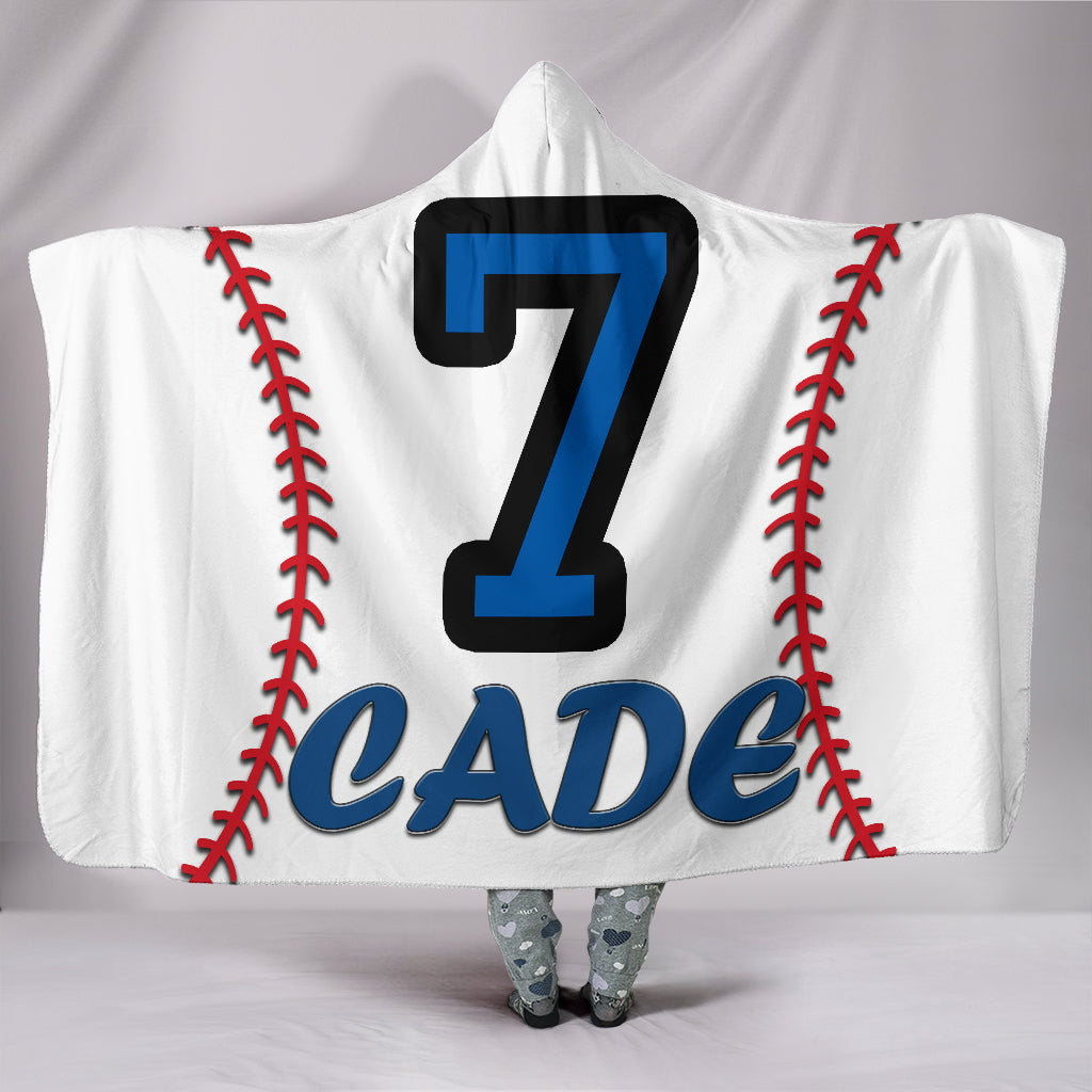 draft personalized hooded blanket 4398
