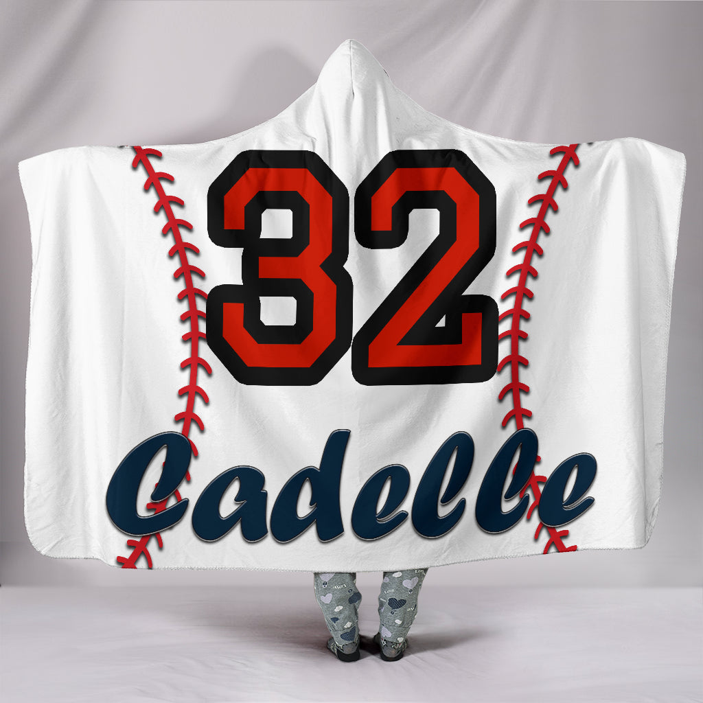 draft personalized hooded blanket 4606
