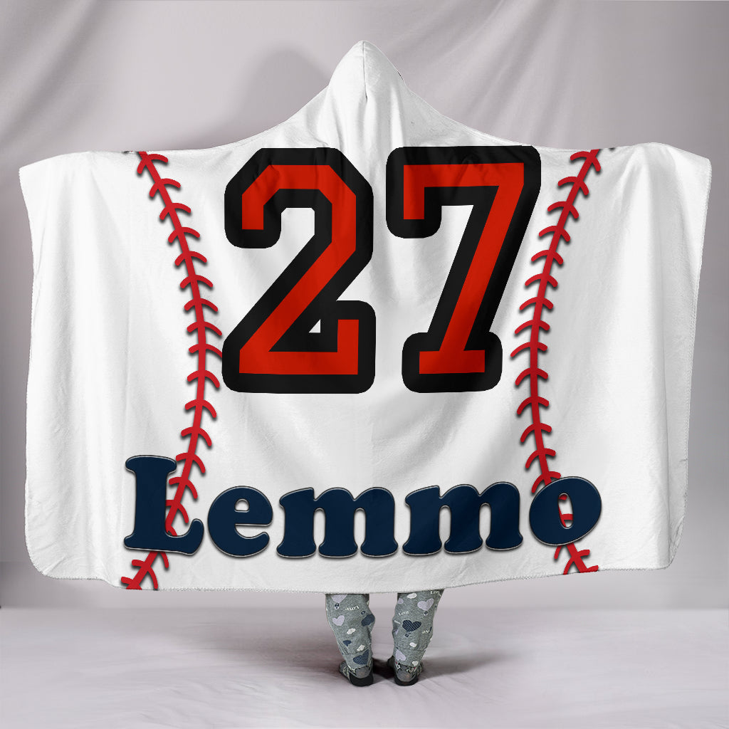 draft personalized hooded blanket 5553