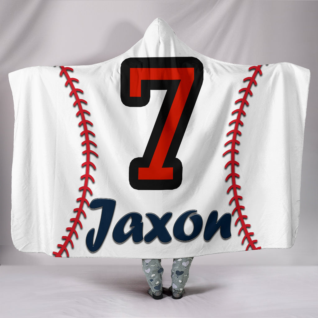 draft personalized hooded blanket 4388