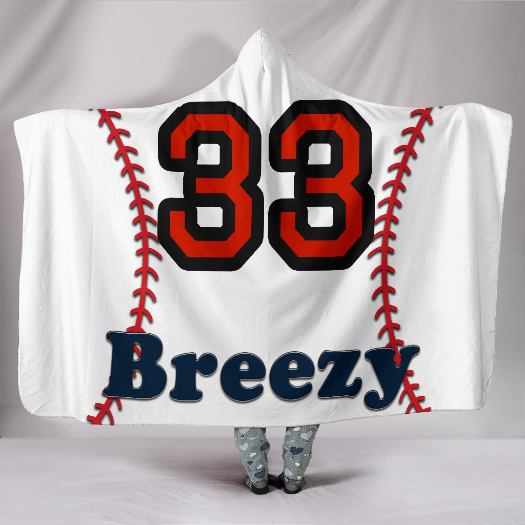 draft personalized hooded blanket 5435