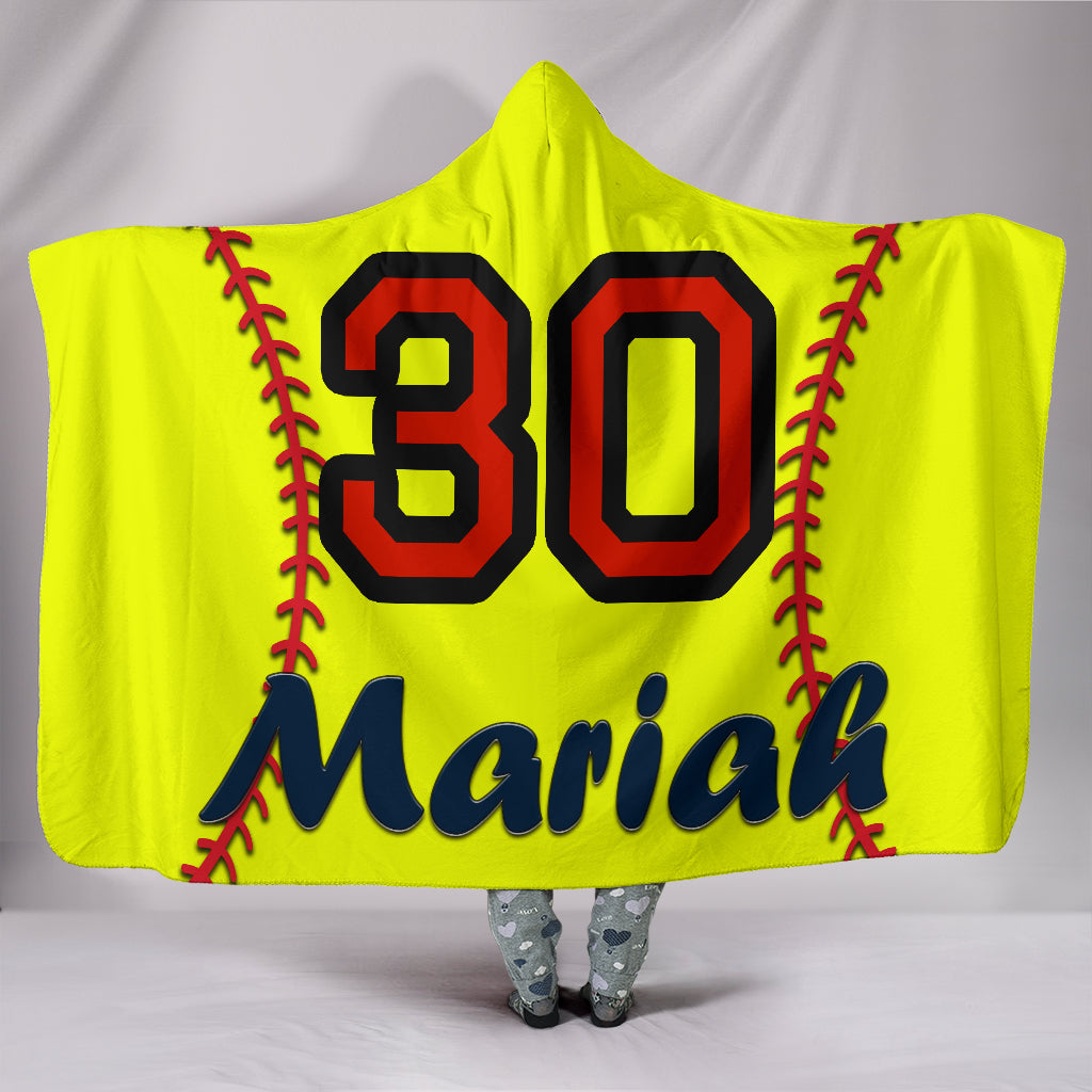draft personalized hooded blanket 4528