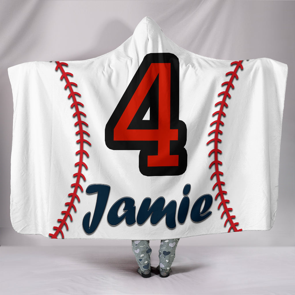 draft personalized hooded blanket 4688