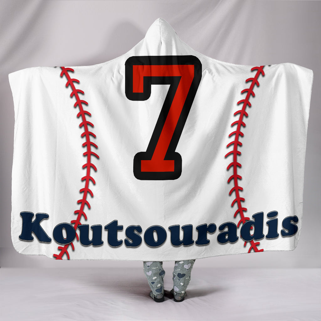 draft personalized hooded blanket 6393