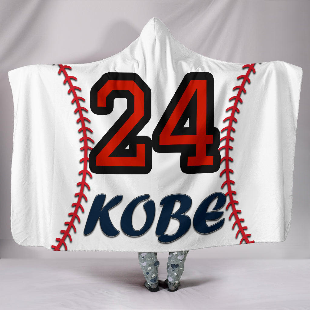 draft personalized hooded blanket 4299