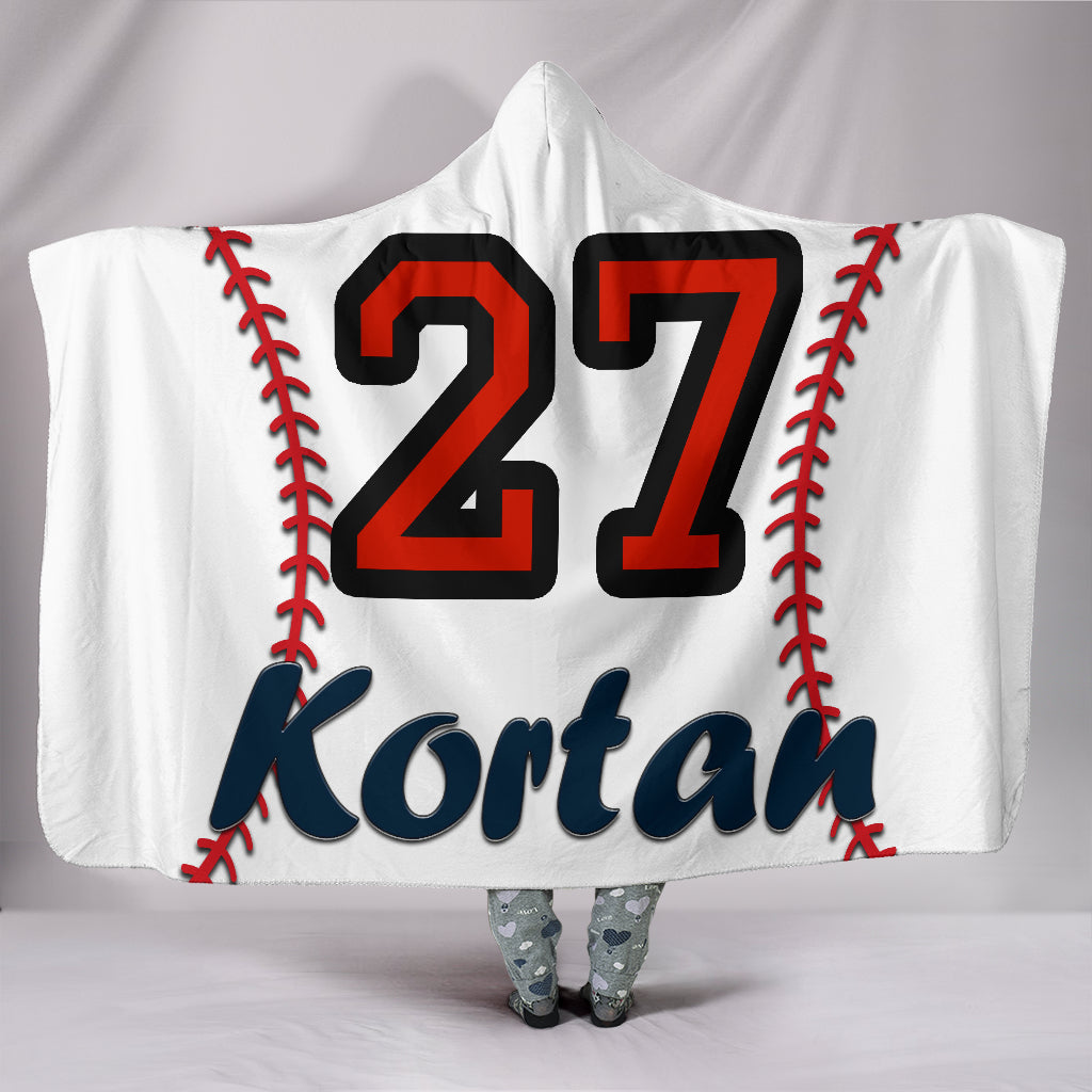 draft personalized hooded blanket 4611