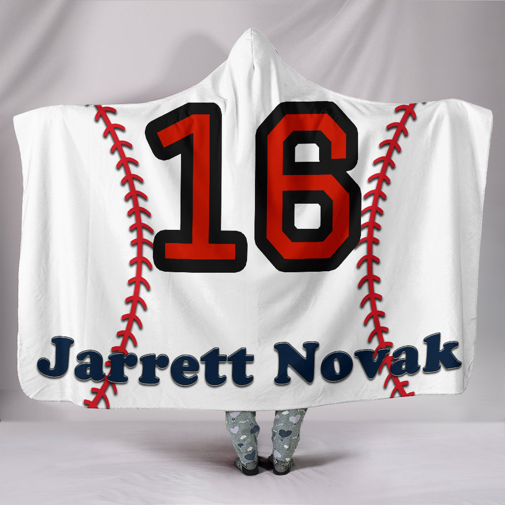 draft personalized hooded blanket 5770