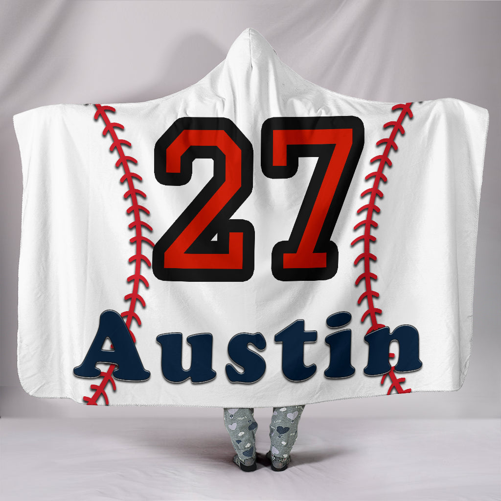 draft personalized hooded blanket 4286