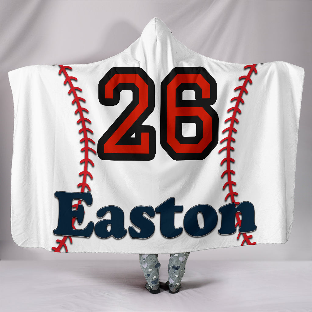 draft personalized hooded blanket 5013