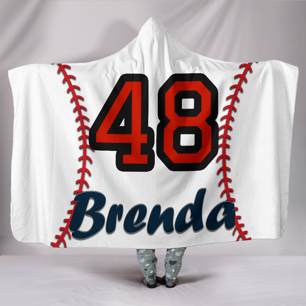 draft personalized hooded blanket 4808