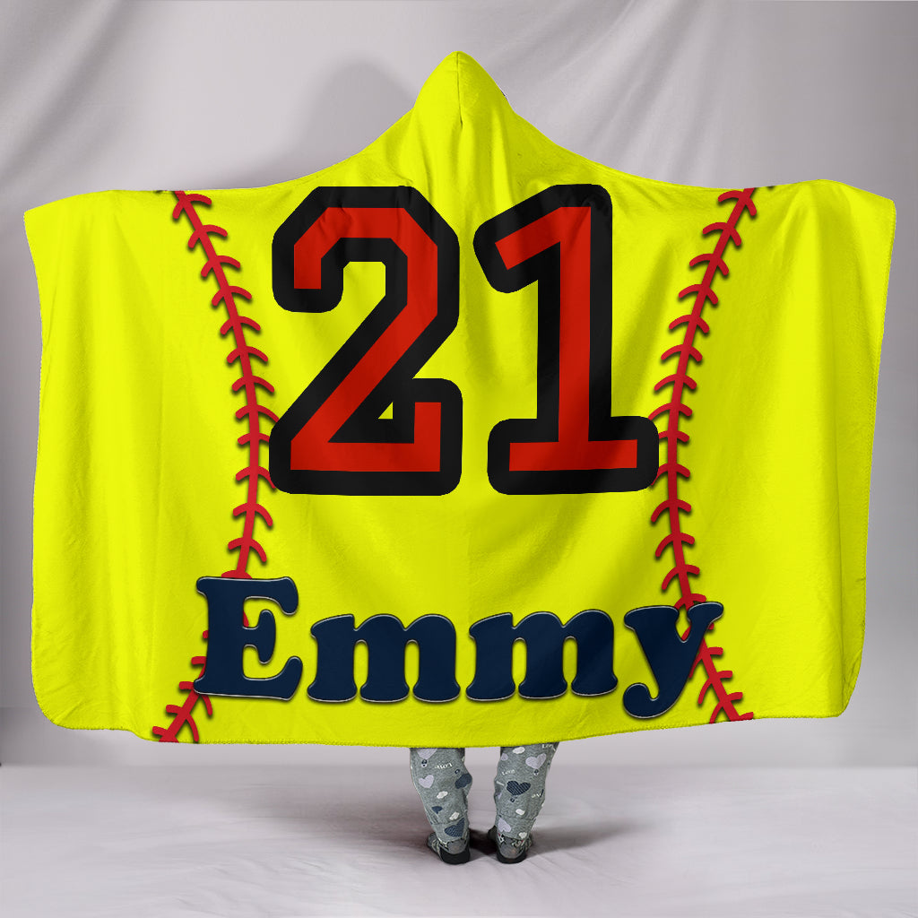draft personalized hooded blanket 5737