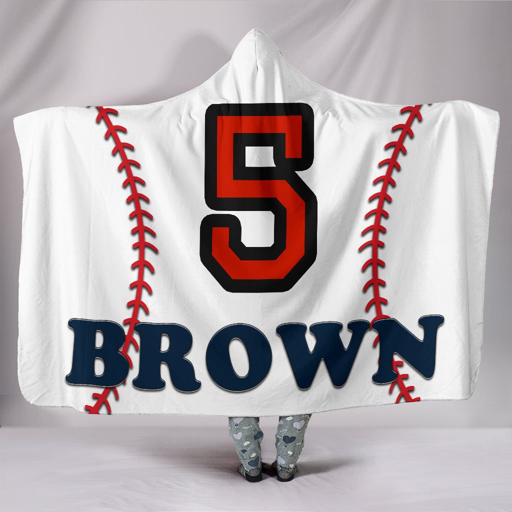 draft personalized hooded blanket 5580