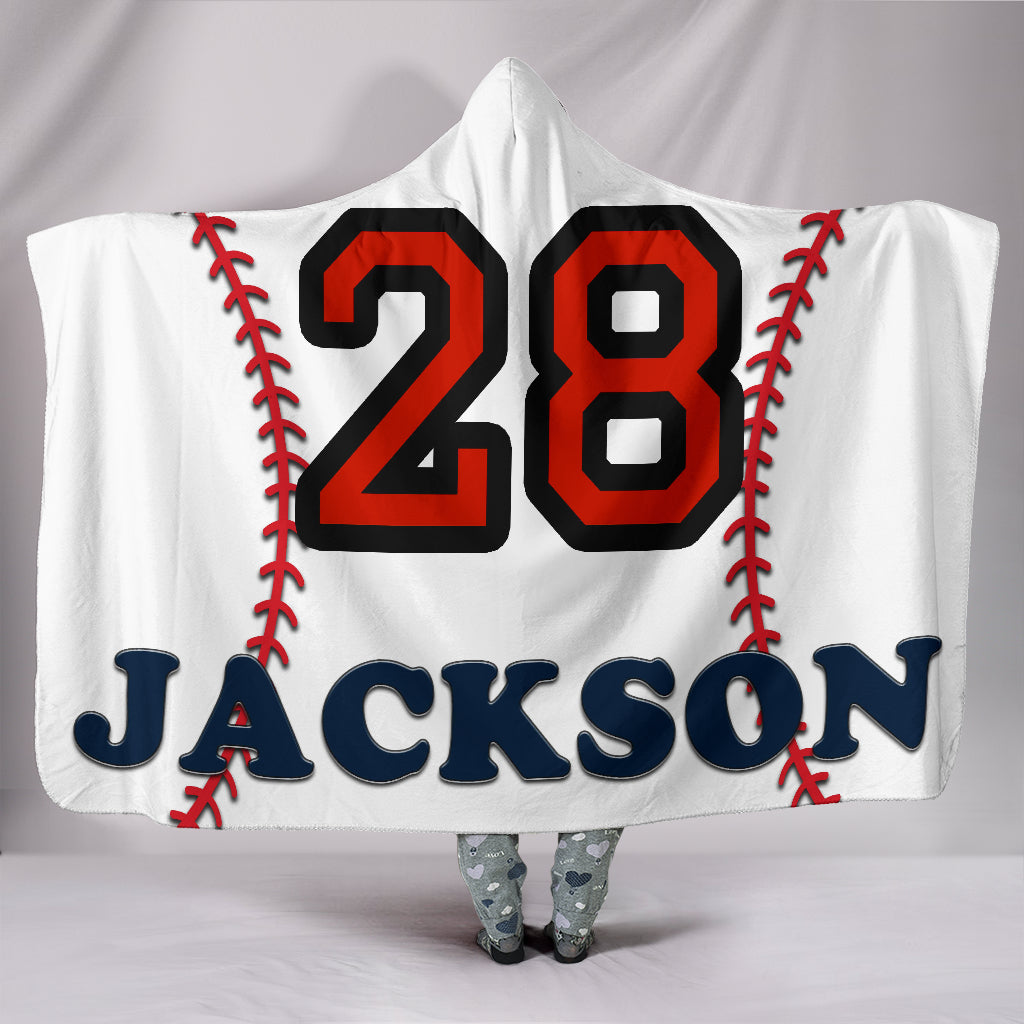 draft personalized hooded blanket 5615