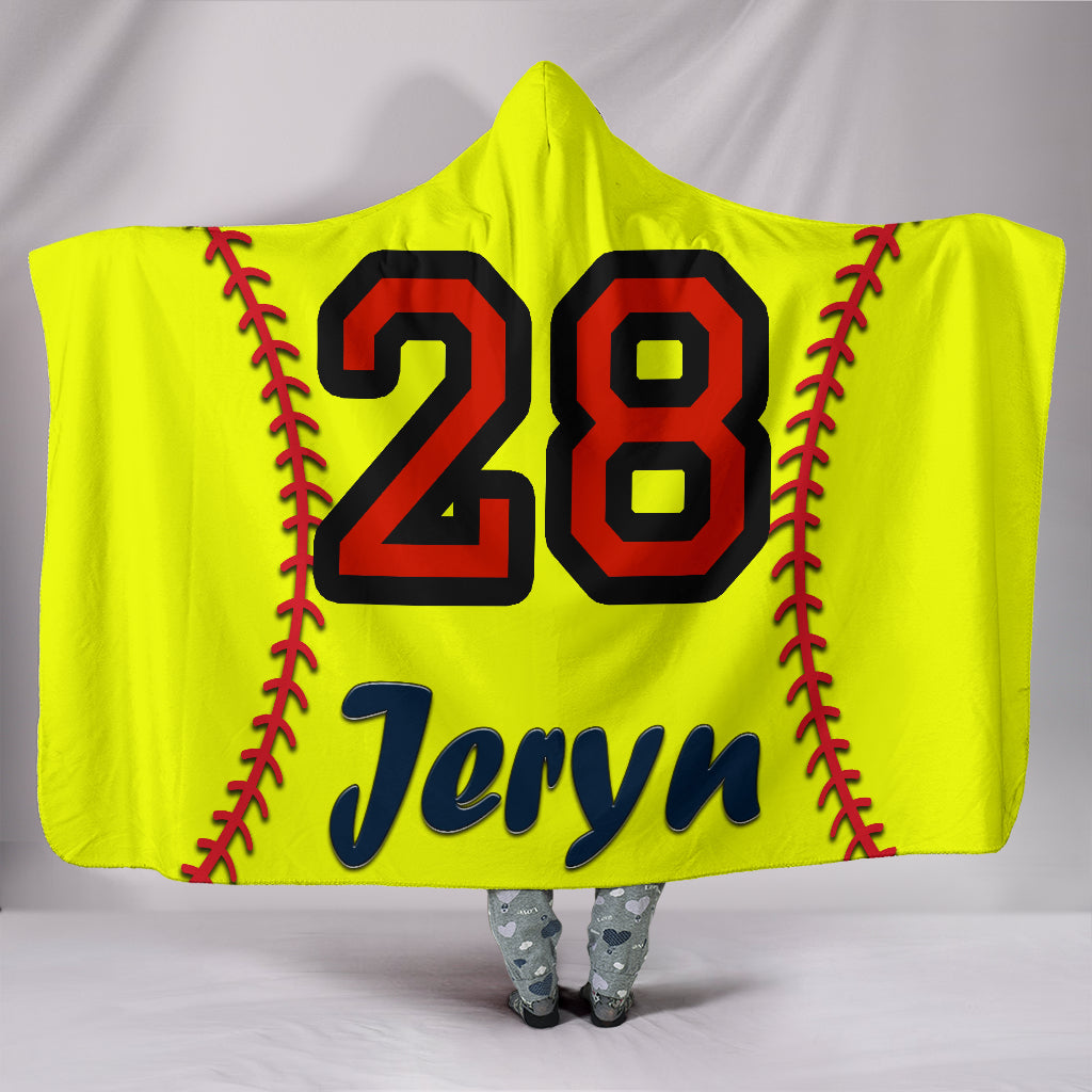 draft personalized hooded blanket 4359