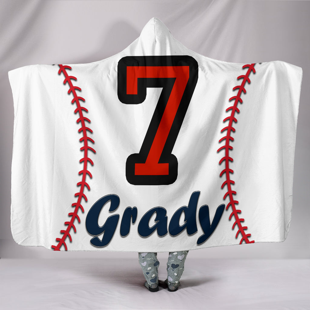 draft personalized hooded blanket 4372