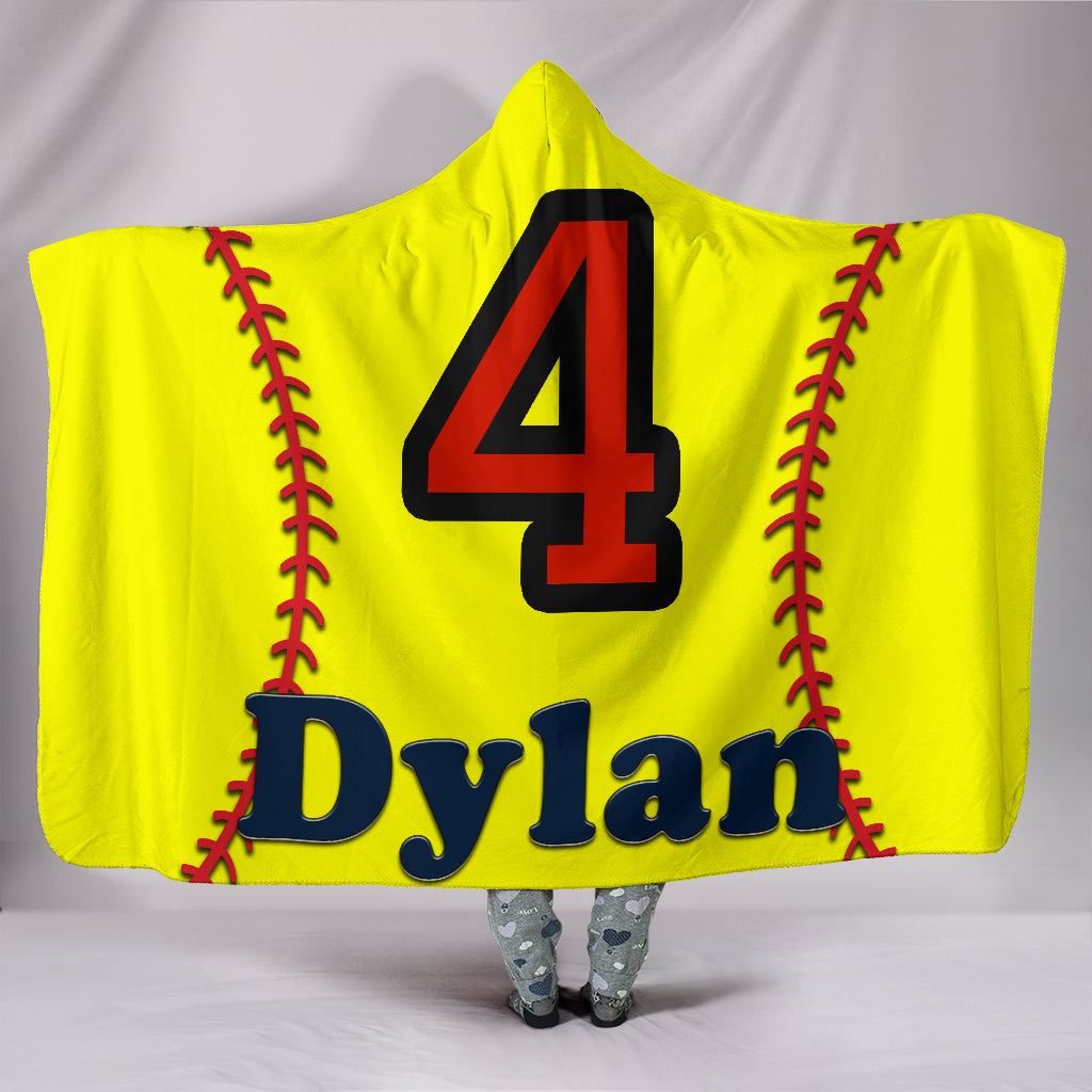 draft personalized hooded blanket 6385