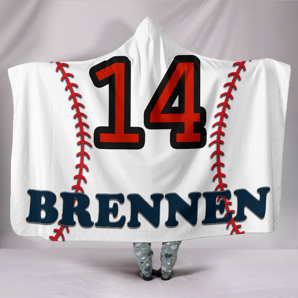 draft personalized hooded blanket 5015