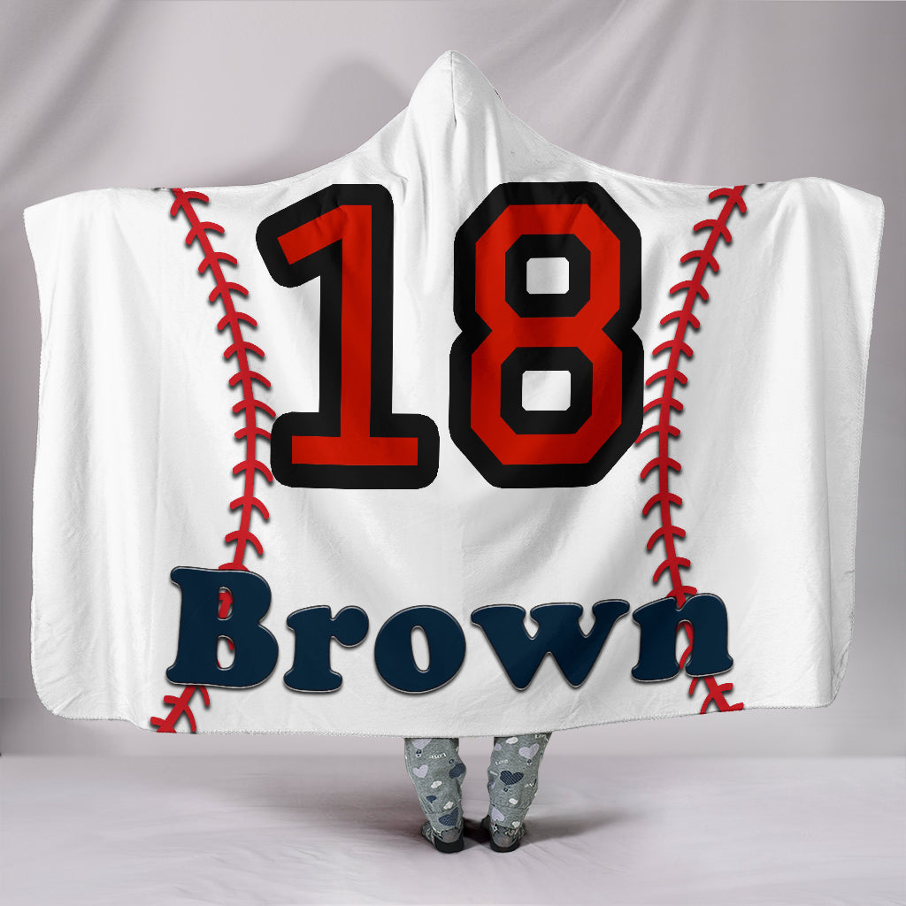 draft personalized hooded blanket 6689