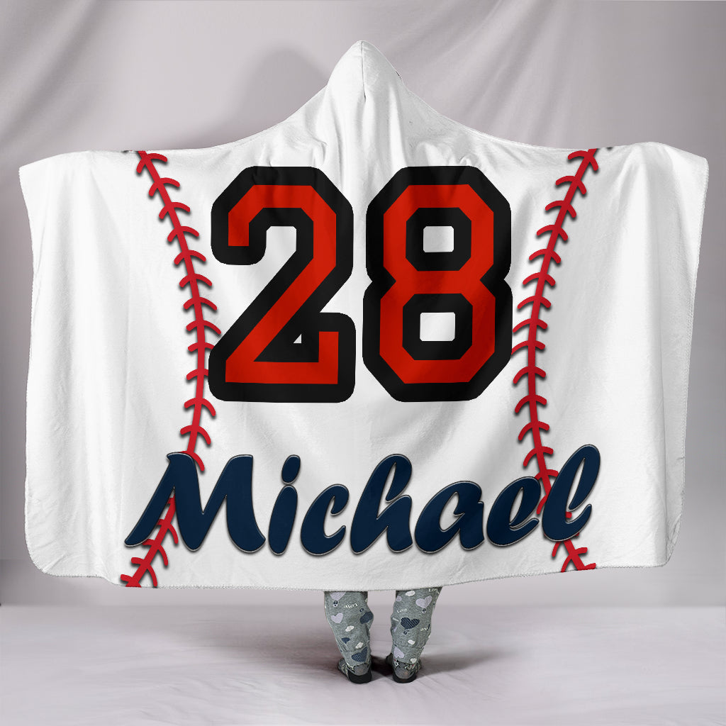 draft personalized hooded blanket 4356