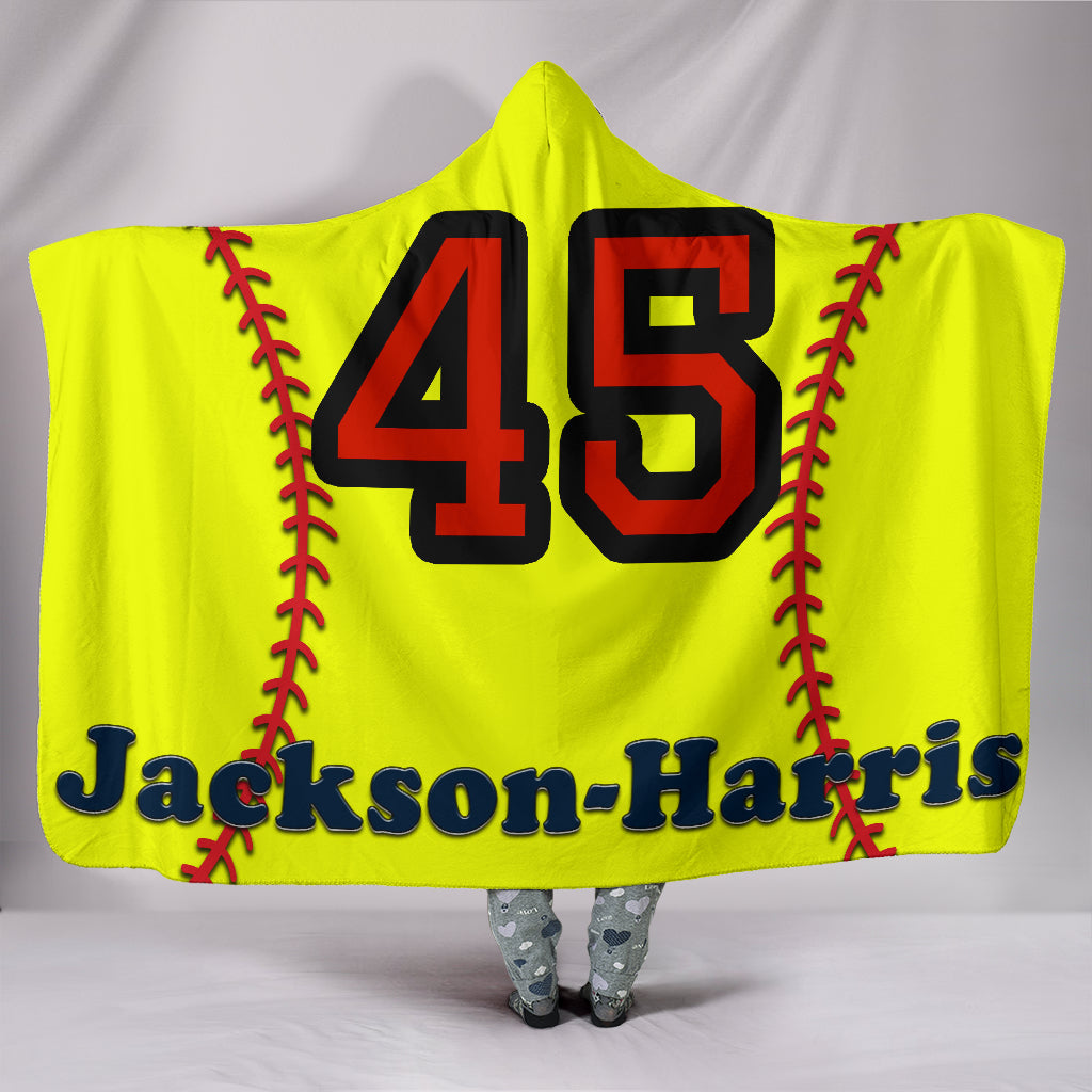 draft personalized hooded blanket 5437