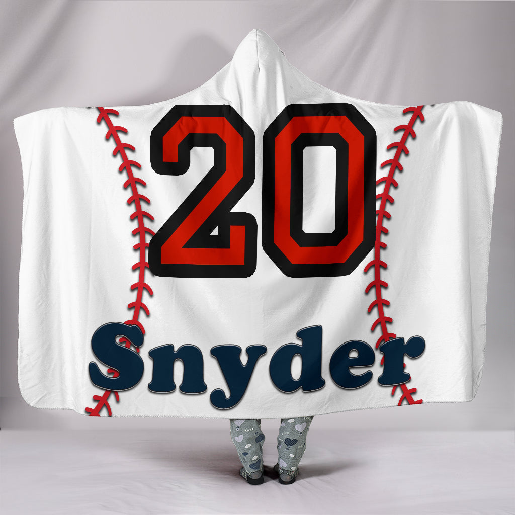 draft personalized hooded blanket 6974