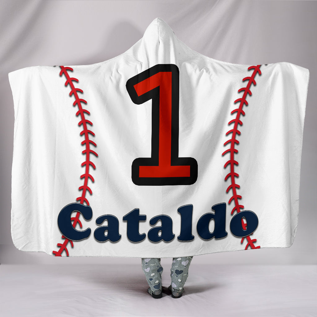 draft personalized hooded blanket 5743