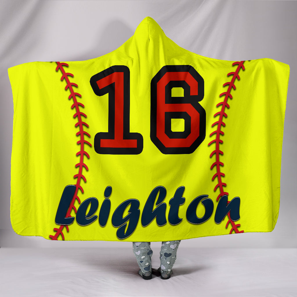 draft personalized hooded blanket 5020