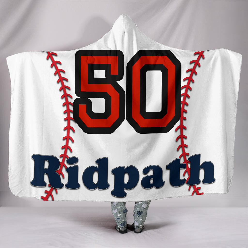 draft personalized hooded blanket 5593
