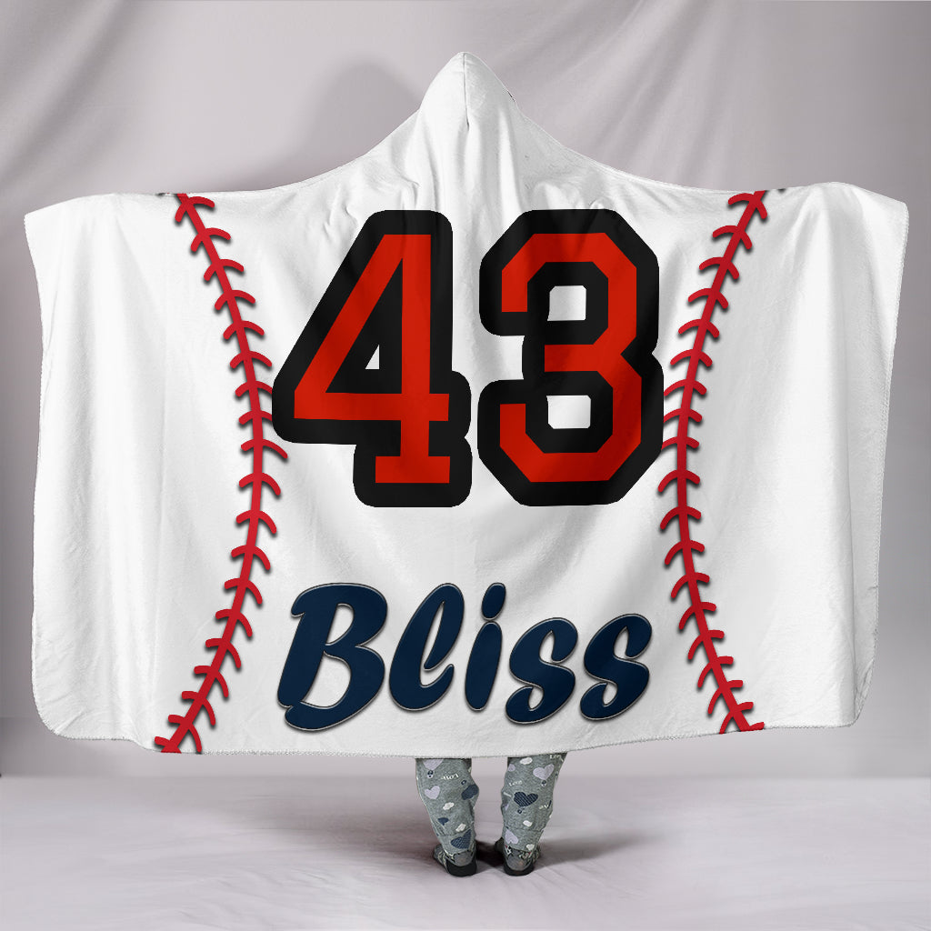 draft personalized hooded blanket 4446