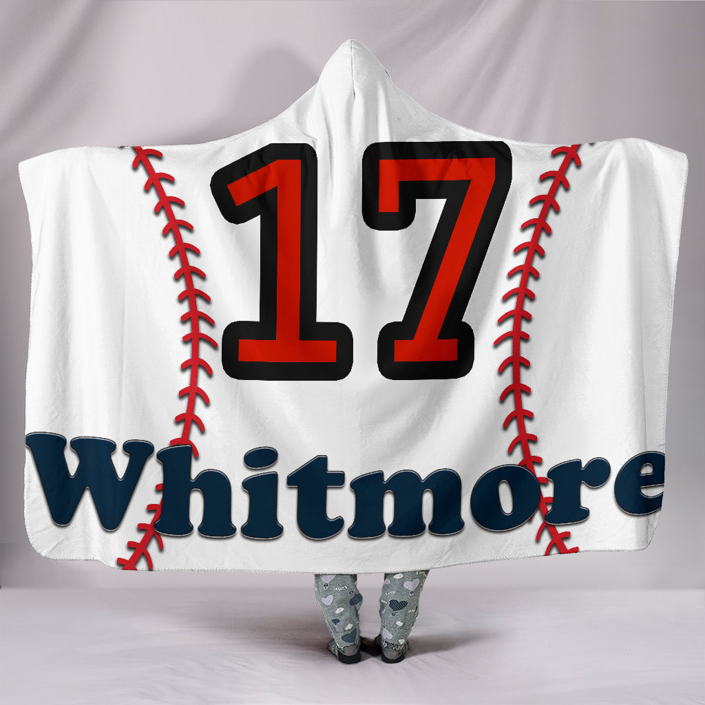 draft personalized hooded blanket 6707