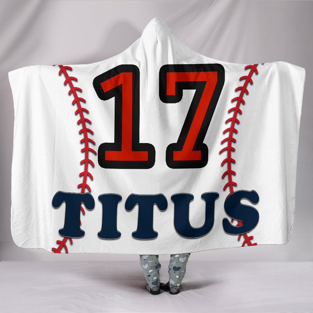 draft personalized hooded blanket 5521