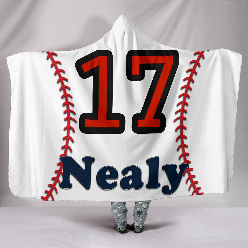 draft personalized hooded blanket 5573