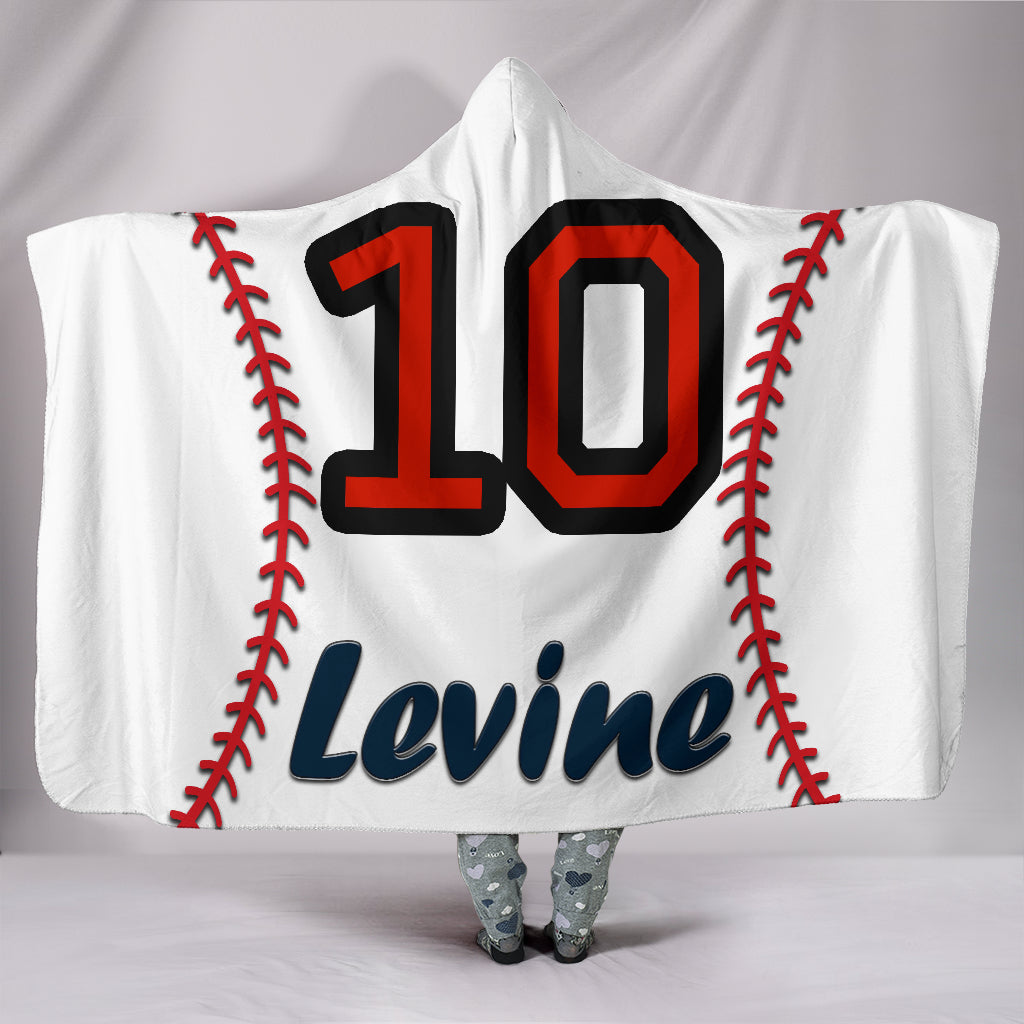 draft personalized hooded blanket 5163