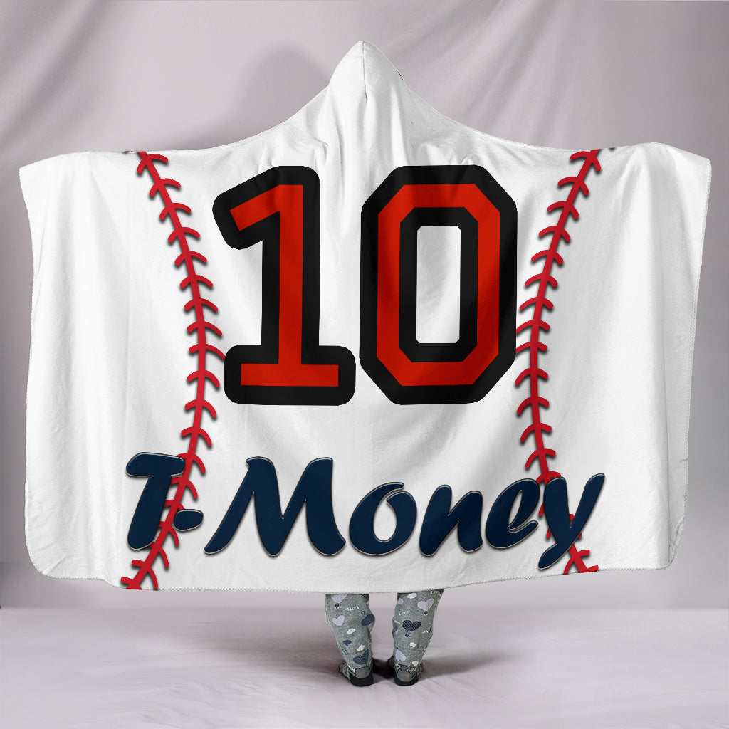 draft personalized hooded blanket 4497