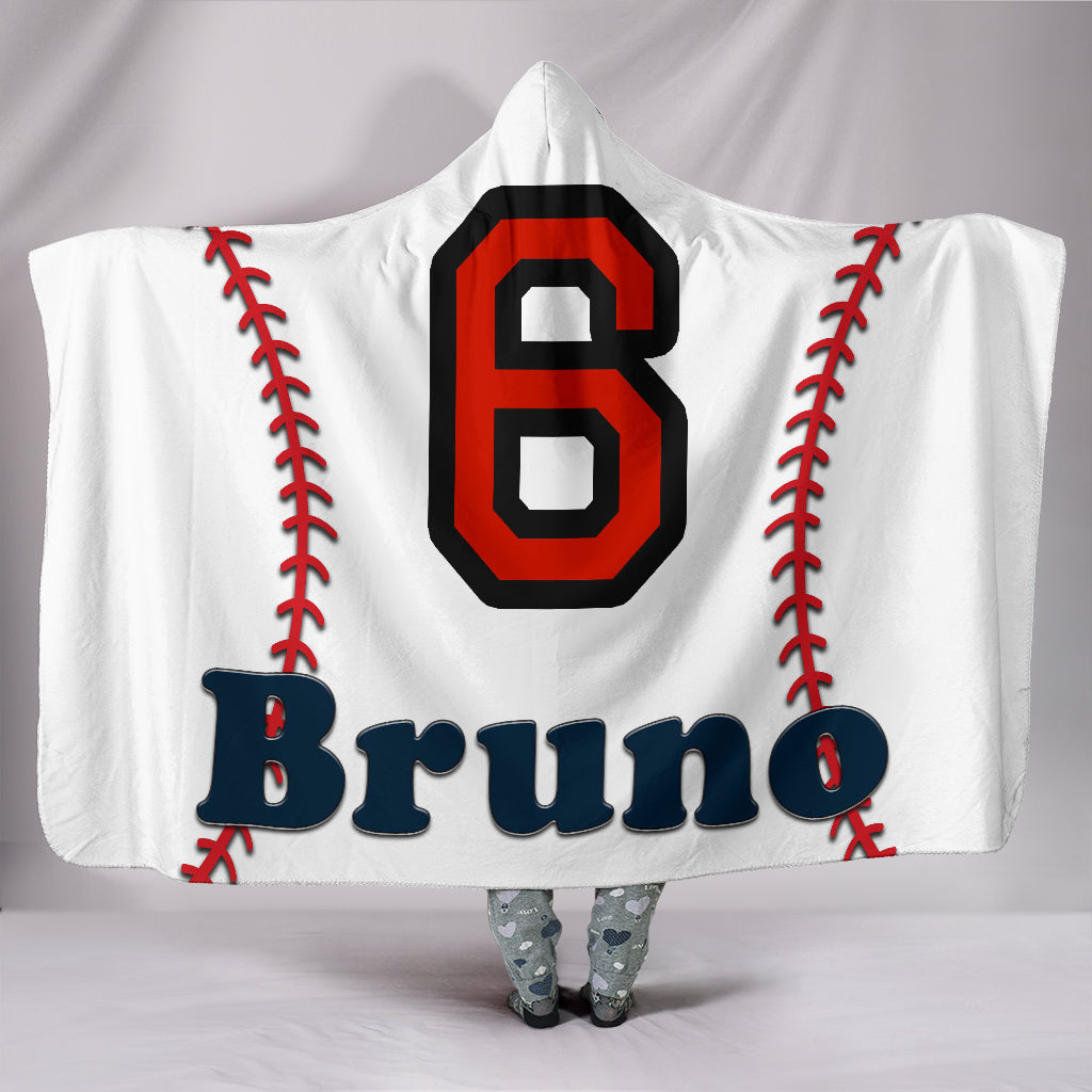 draft personalized hooded blanket 6618